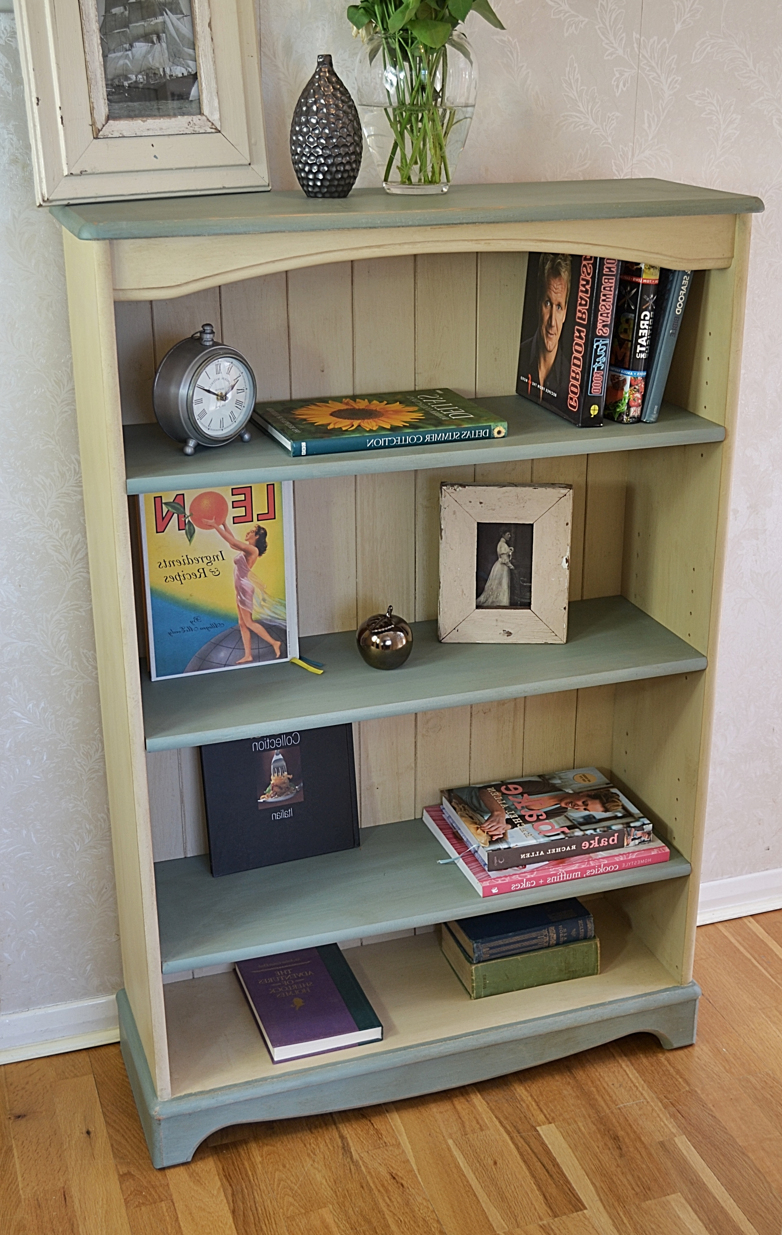 bookcases painted antique the bookcase bookshelves vintage pin consortium