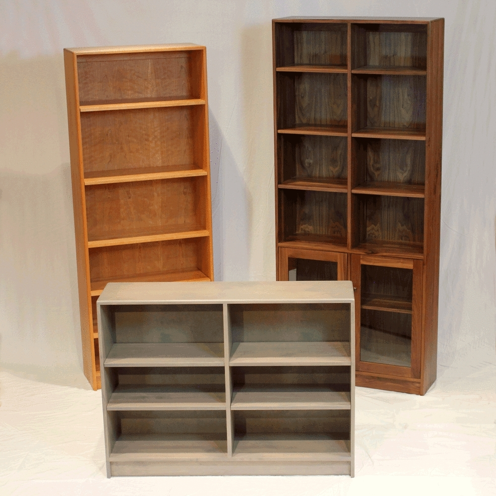 Popular Furniture Home: Solid Wood Bookcases Urban Natural Home With Regard To Real Wood Bookcases (View 9 of 15)