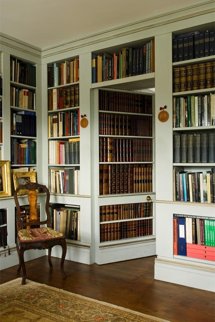Popular Hidden Door Bookcases Inside I Worked At A Publishing House In Philadelphia That Had A Hidden (View 12 of 15)