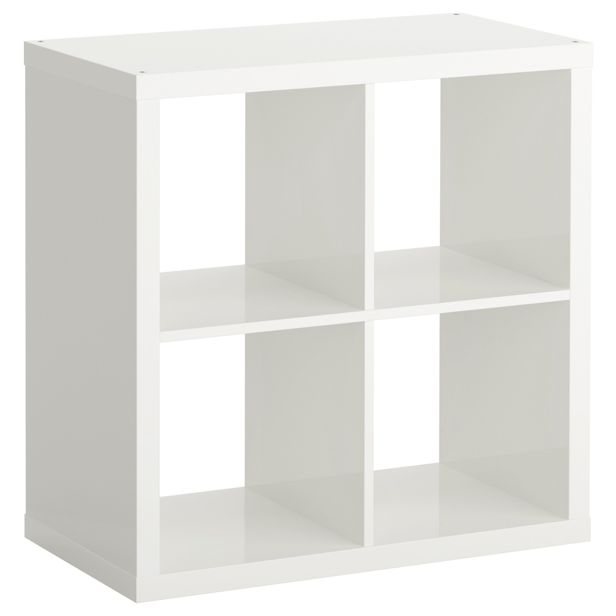 Popular Ikea White Bookcases Throughout Kallax Shelf Unit – High Gloss White – Ikea (View 12 of 15)