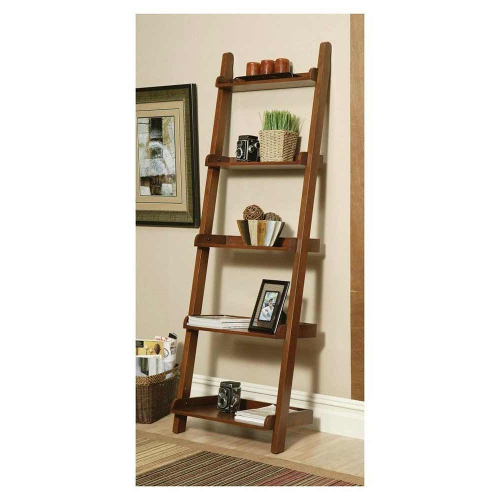 Popular Leaning Ladder Bookcases In Bookshelf (View 12 of 15)