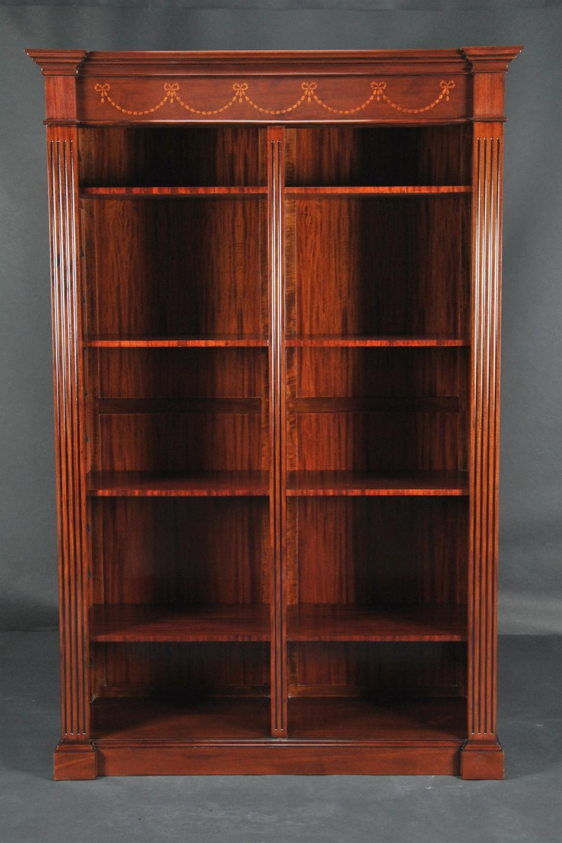Popular Mahogany Bookcases Intended For Antique Mahogany China Cabinet And Bookcase Bookcases Online From (View 8 of 15)