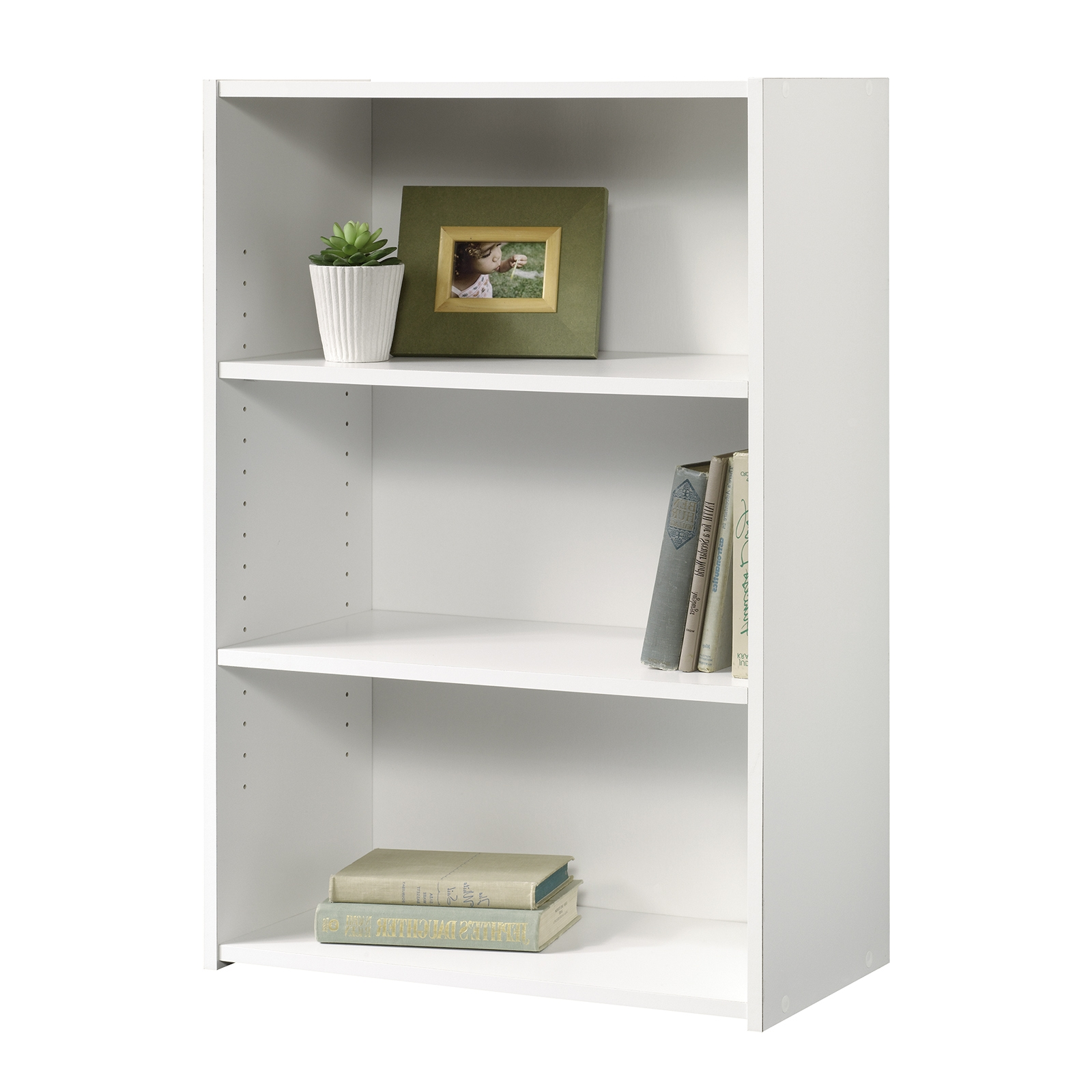 Popular Mainstays 3 Shelf Bookcases For Beginnings (View 10 of 15)