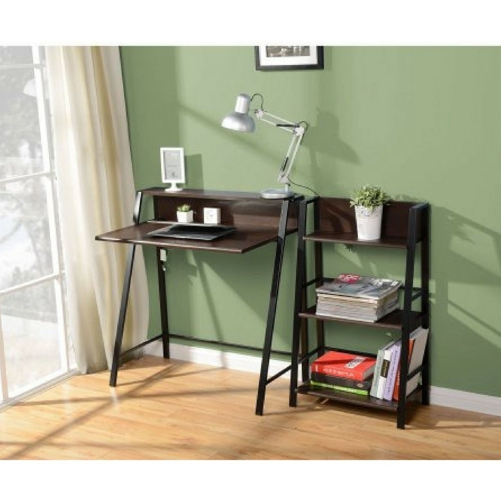 Popular Mainstays 3 Shelf Bookcases Inside Amazon: Mainstays 3 Shelf Bookcase (Mocha): Kitchen & Dining (View 11 of 15)