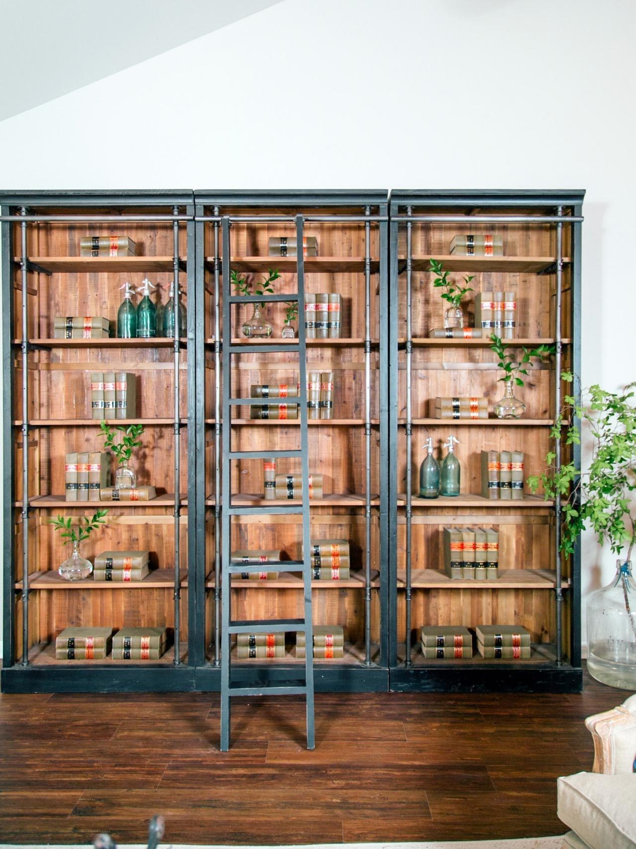 Popular New Floor To Ceiling Bookshelves Plans – Tikspor For Freestanding Bookshelves (View 11 of 15)