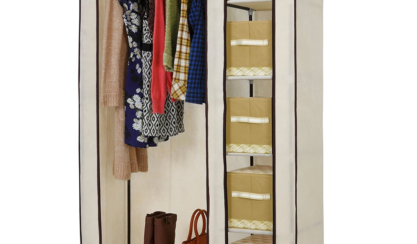 Popular Shelf : Wardrobe Closet Wonderful Double Rail Wardrobes Furniture Throughout Double Rail Wardrobes Argos (View 14 of 15)