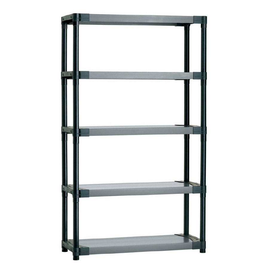 Popular Shop Freestanding Shelving Units At Lowes With Regard To Cheap Shelving Units (View 11 of 15)
