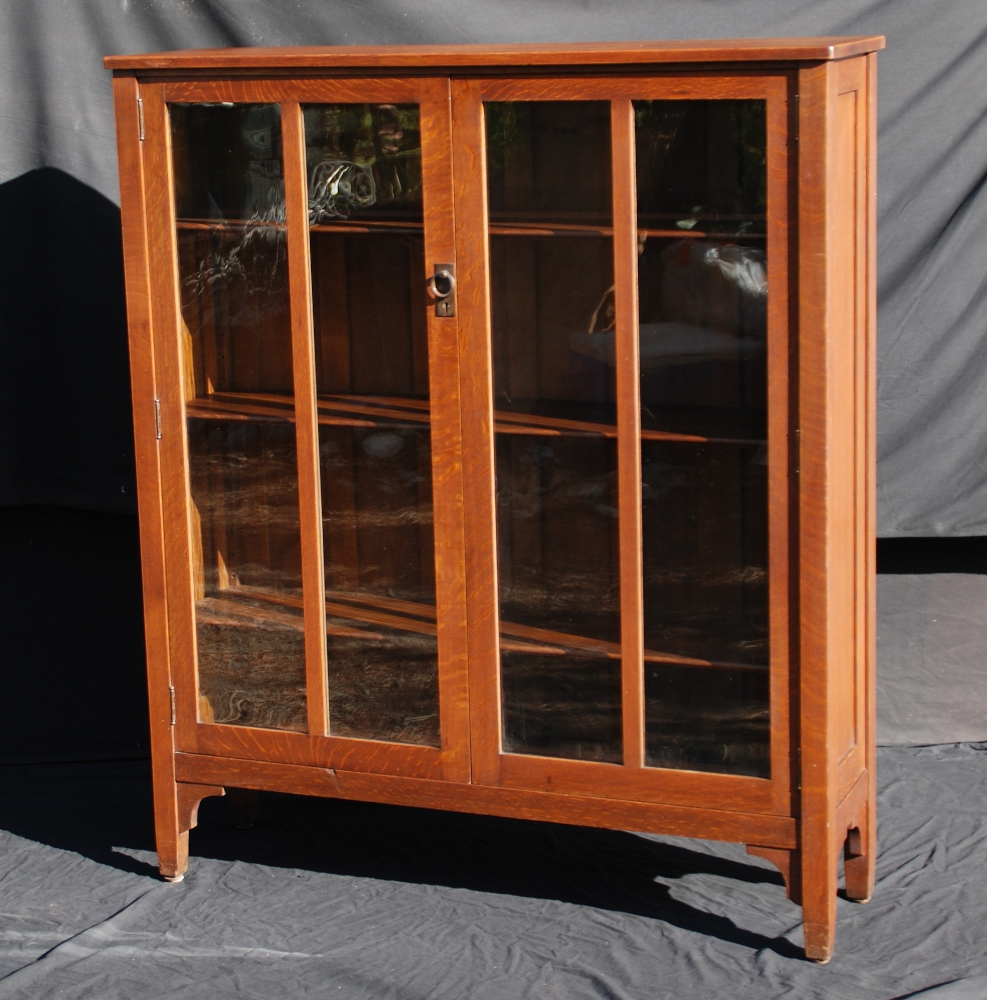 Popular Stickley Bookcases Intended For Voorhees Craftsman Mission Oak Furniture – Stickley Brothers Two (View 7 of 15)