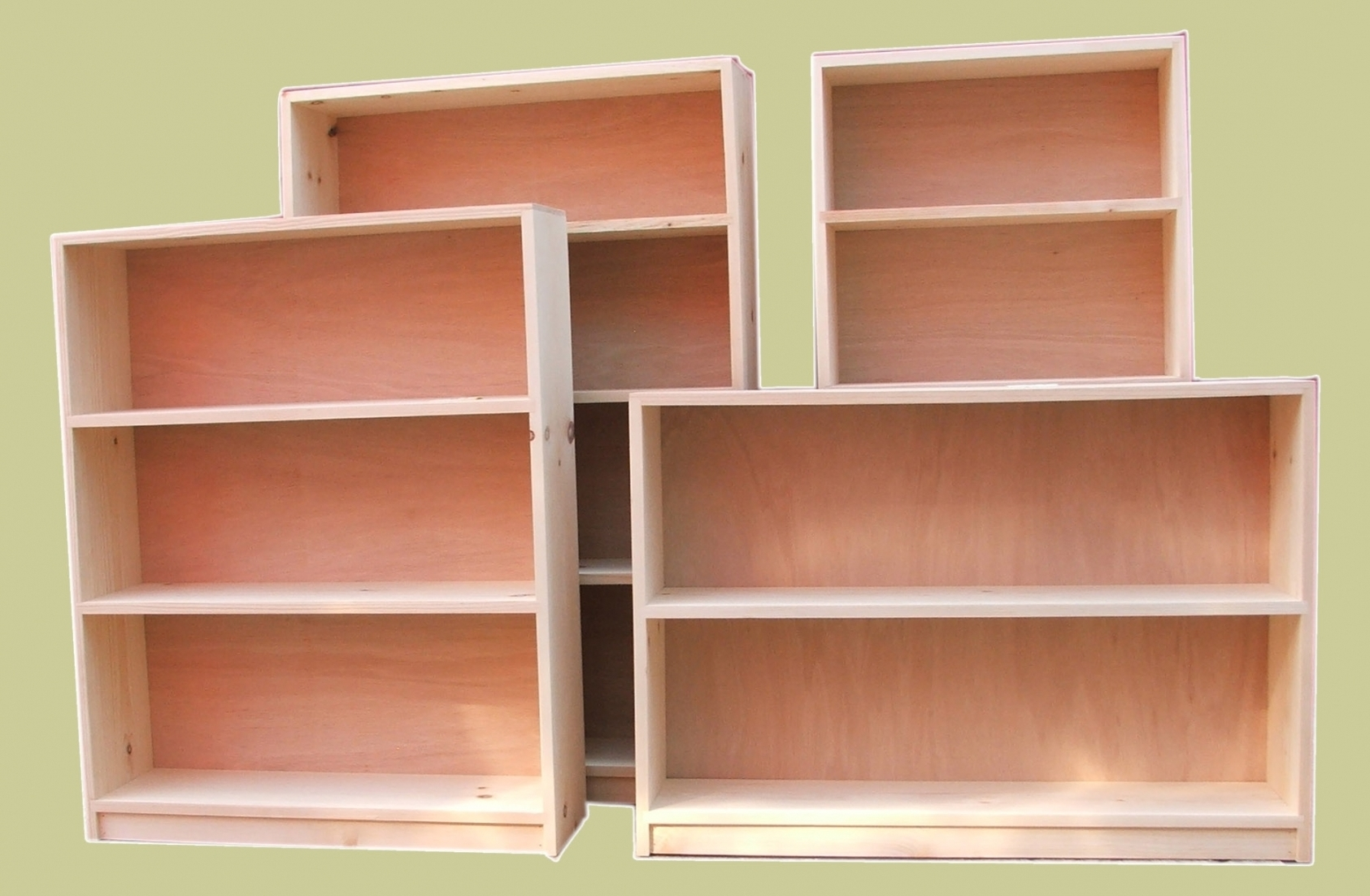 Popular Unfinished Bookcases Intended For Bookshelf (View 13 of 15)
