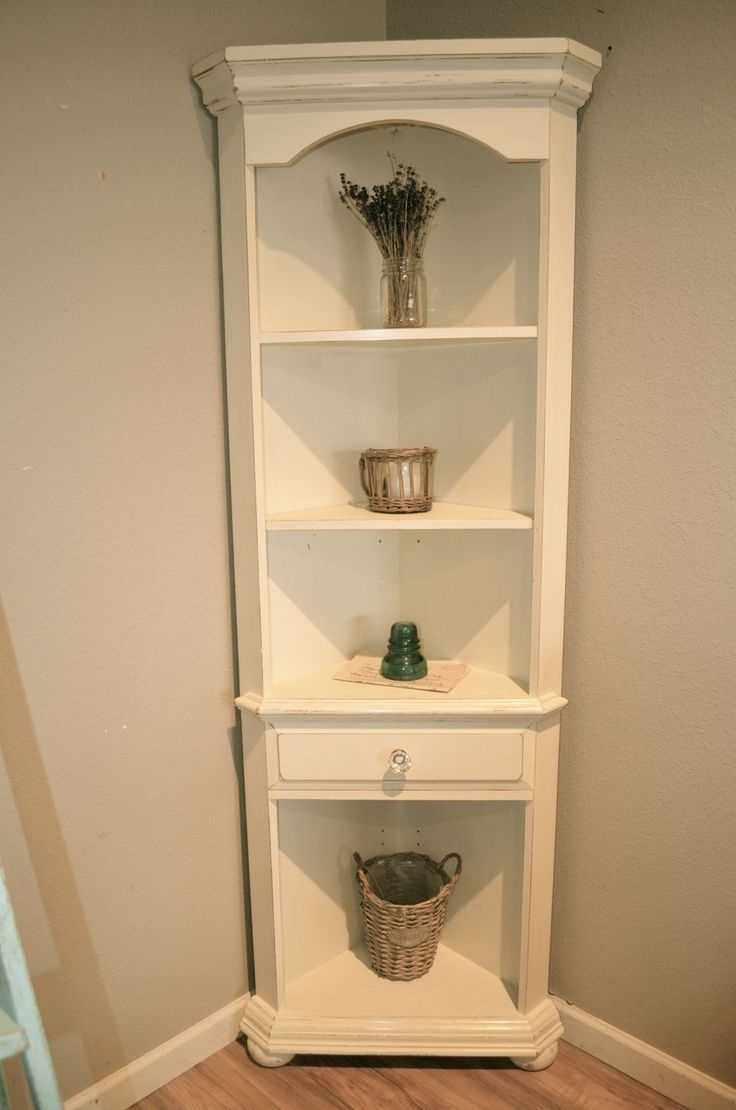 Popular White Bookcase With Corner Unit Coasterwhite Bookcases With Regard To White Corner Bookcases (View 9 of 15)