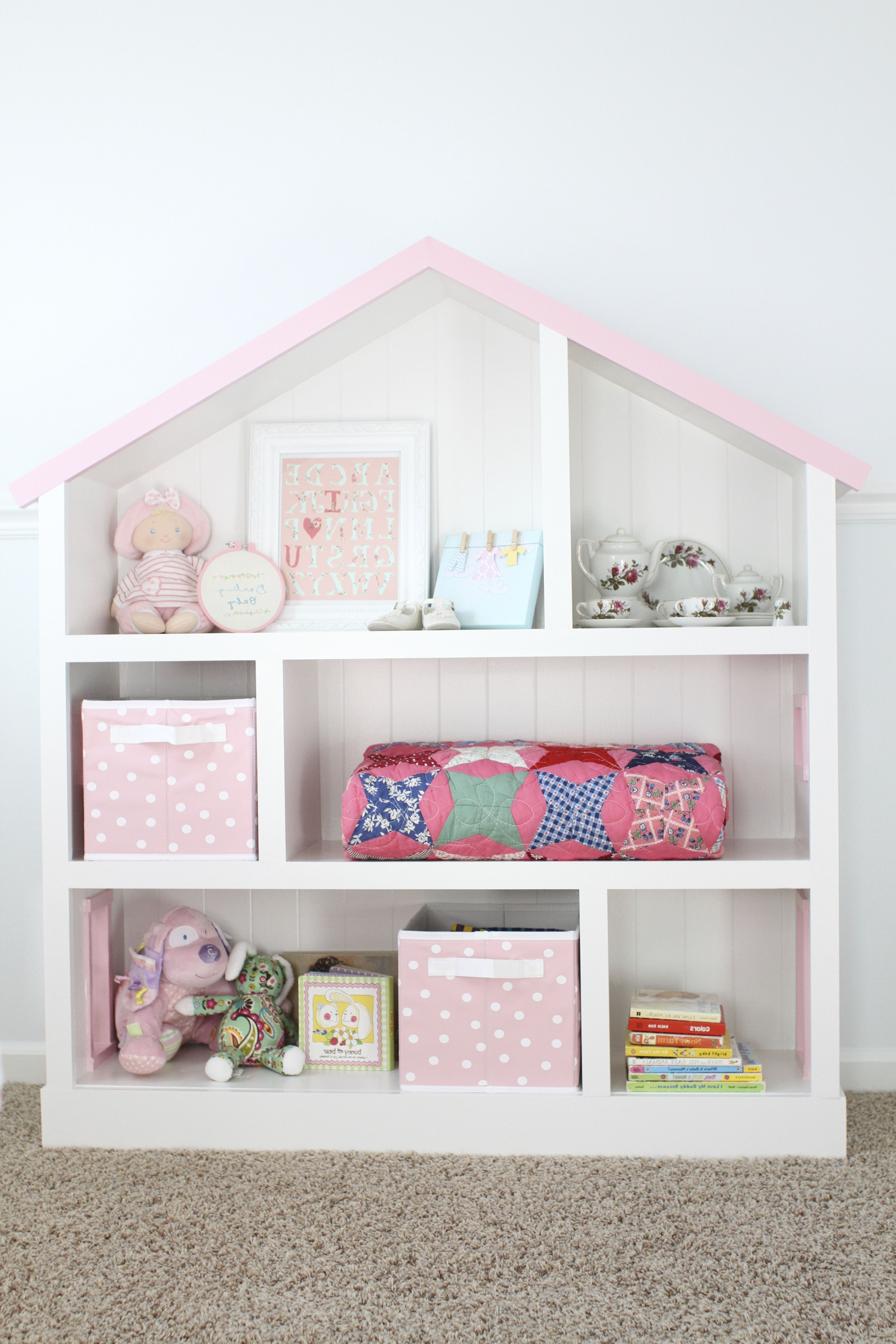 Pottery Barn Bookcases For Most Popular Diy Dollhouse Bookcase (View 11 of 15)
