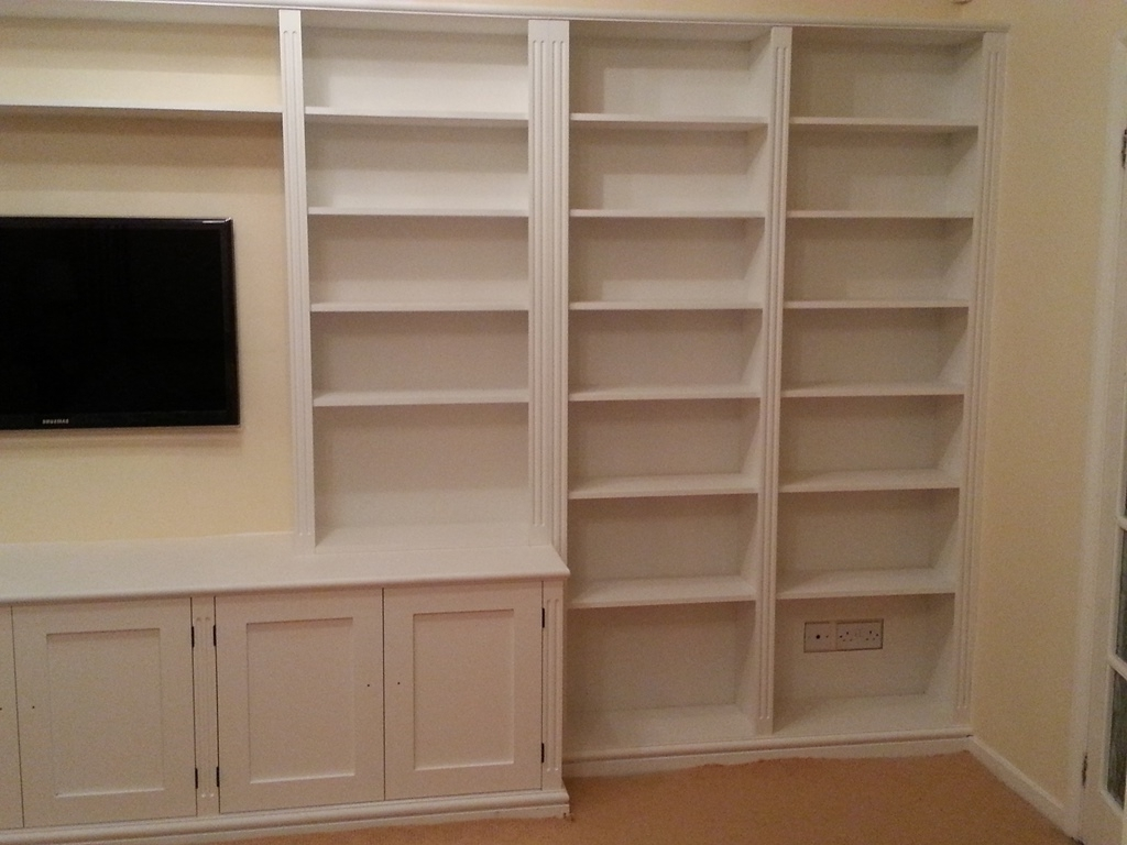Preferred Bespoke Cupboards, Bookcases & Cabinets – Nk West Carpentry With Bespoke Cupboards (View 14 of 15)