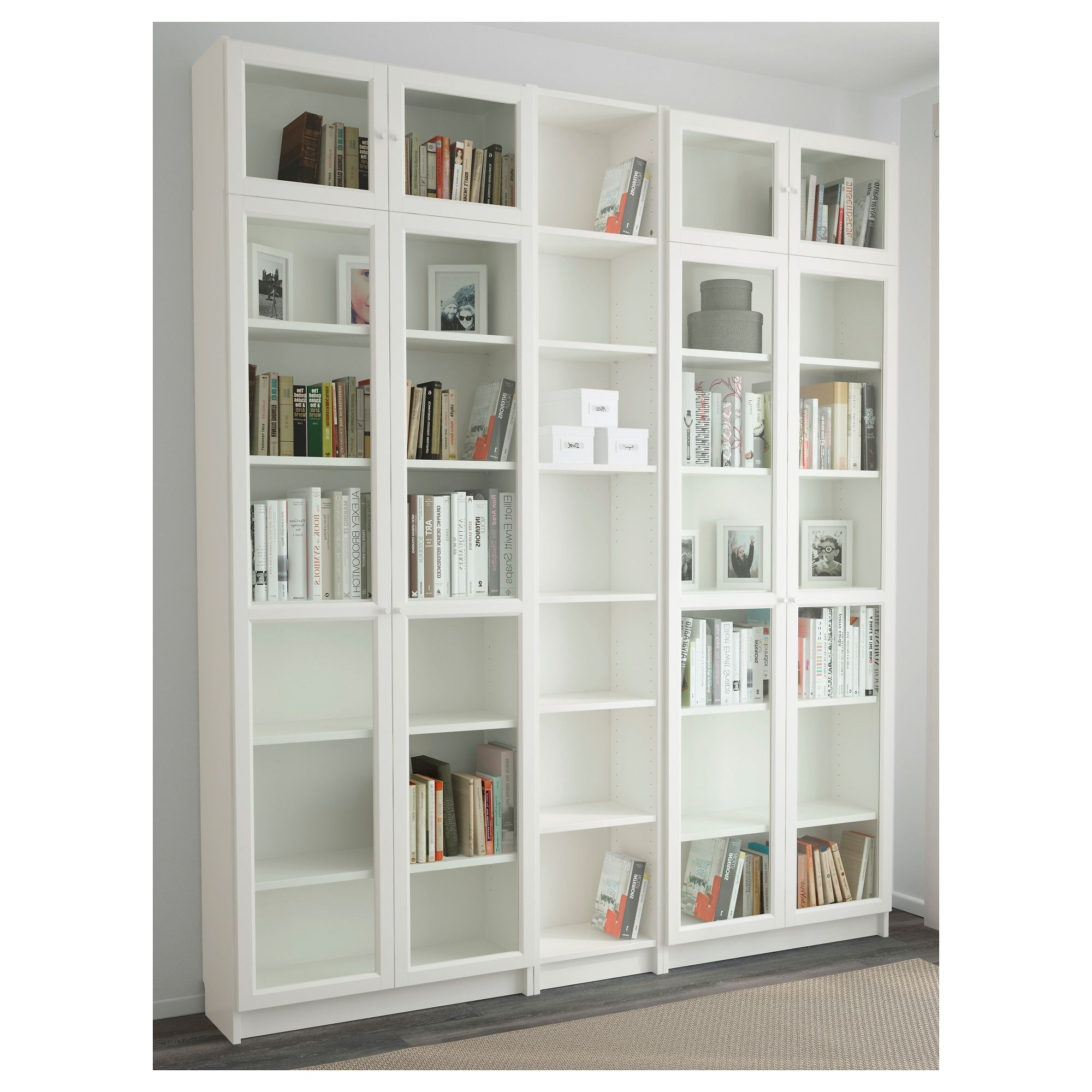 Preferred Billy/oxberg Bookcase White 200X237X30 Cm (View 4 of 15)