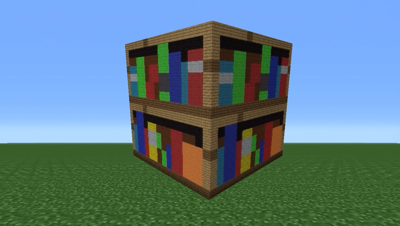 Preferred Bookcase Minecraft Style : Doherty House – How Build Bookcase Pertaining To Minecraft Bookcases (View 13 of 15)