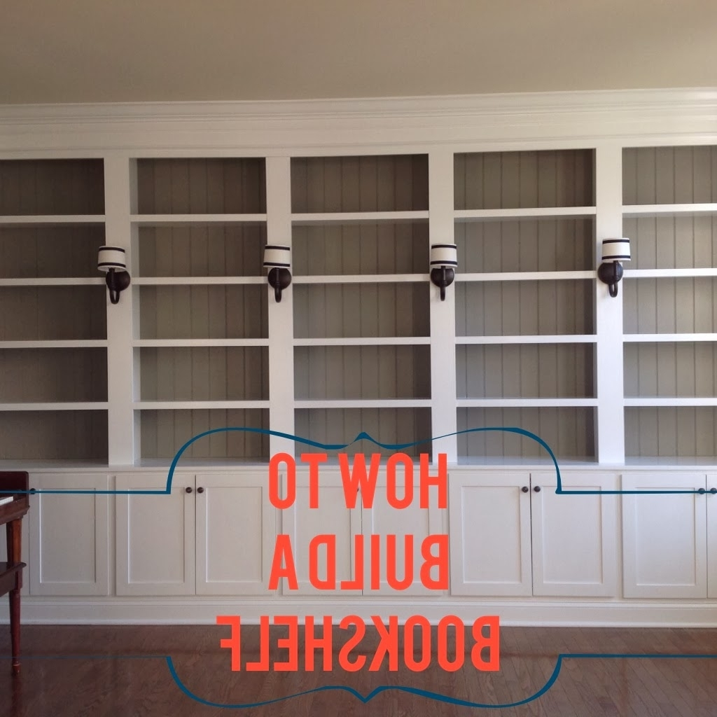 Featured Photo of Built In Library Shelves