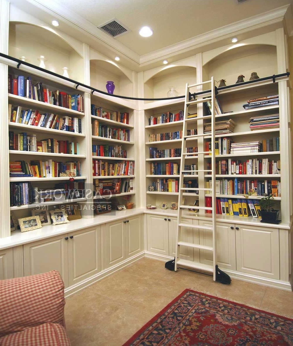 Preferred Built In Library Shelves With Breathtaking Built In Bookshelves White Pics Design Ideas (View 6 of 15)