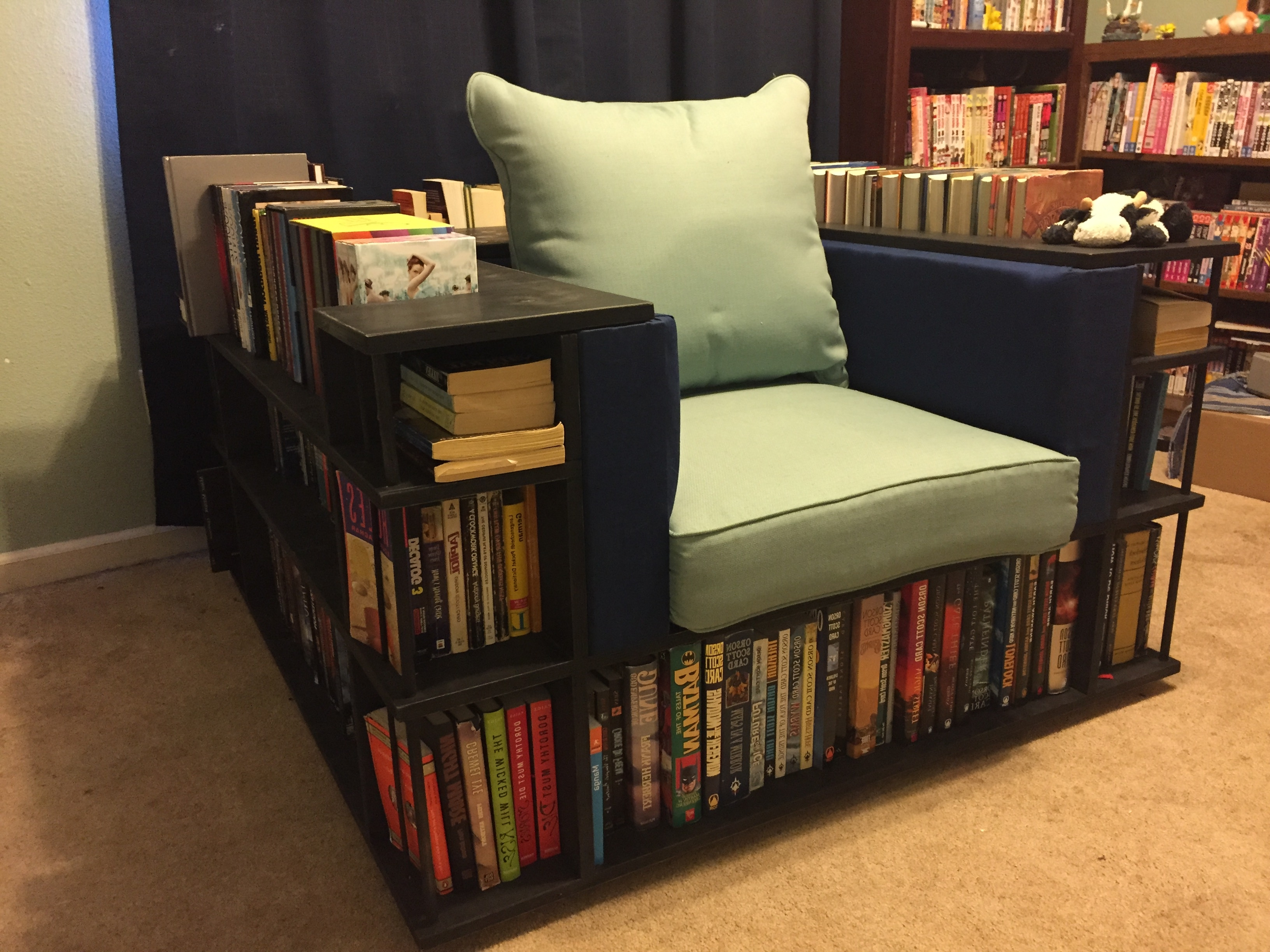 Preferred Cube Bookcases Youll Love Wayfair Ca Benito Unit Bookcase ~ Idolza Within Chair Bookcases (View 12 of 15)