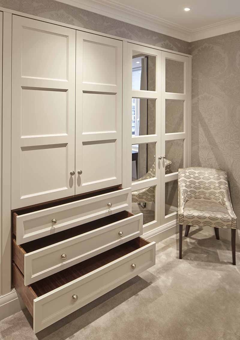 Preferred Drawers For Fitted Wardrobes With Regard To Bespoke Wardrobe Interiors (View 14 of 15)