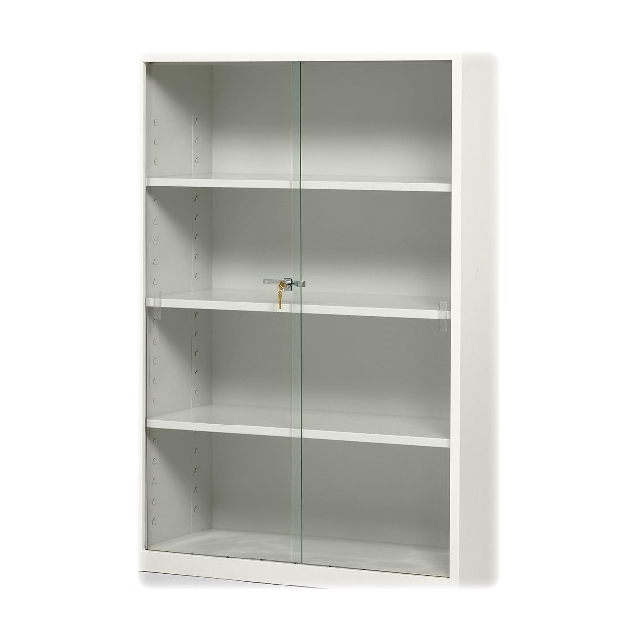 Preferred Glass Cabinet : Amazing Locking Bookcase Glass Doors Image Within Bookcases With Sliding Glass Doors (View 6 of 15)