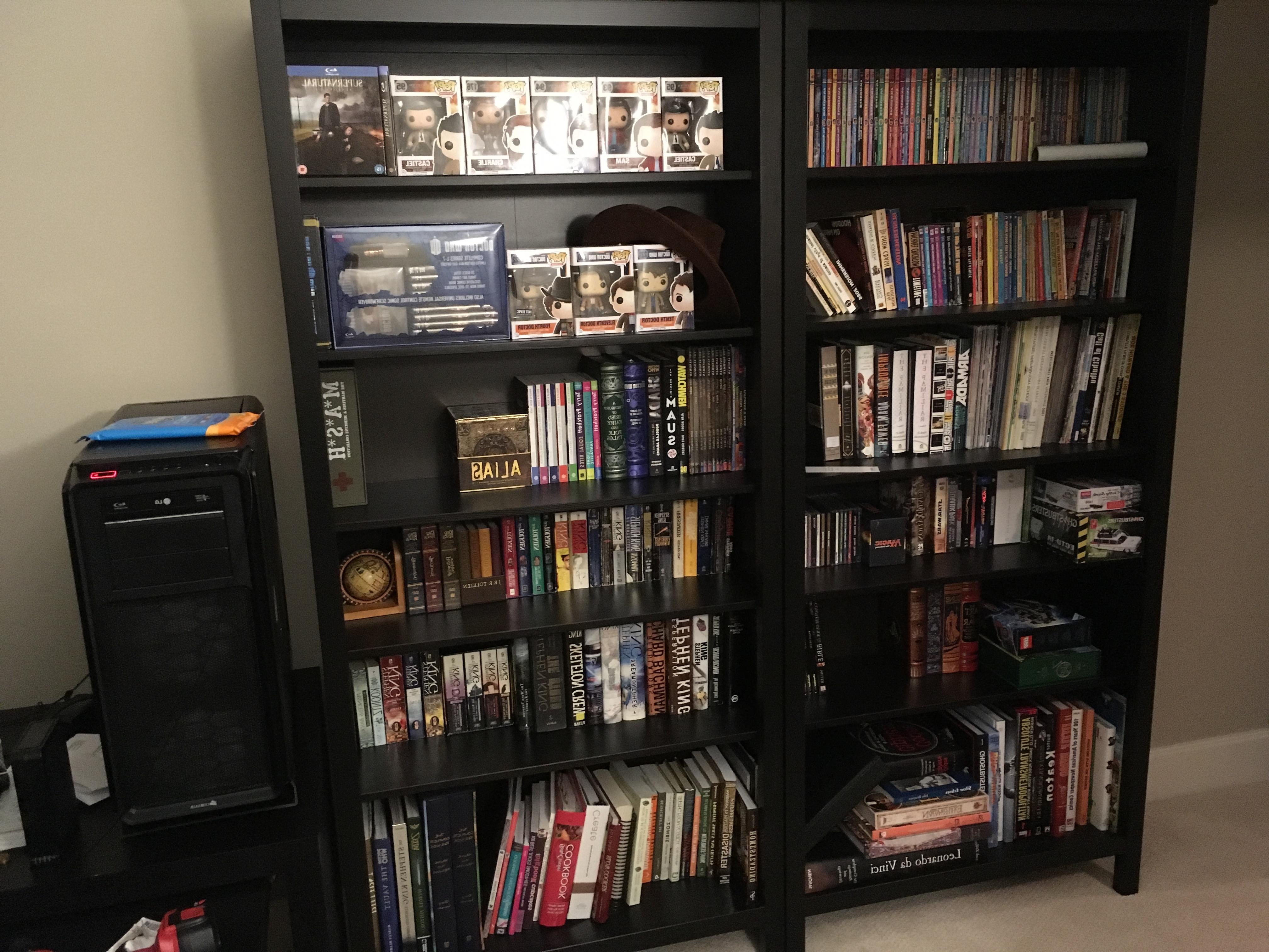Preferred Ikea Hemnes Bookcases Pertaining To Ikea Hack (Fix): Hemnes Bookcase – Album On Imgur (View 9 of 15)