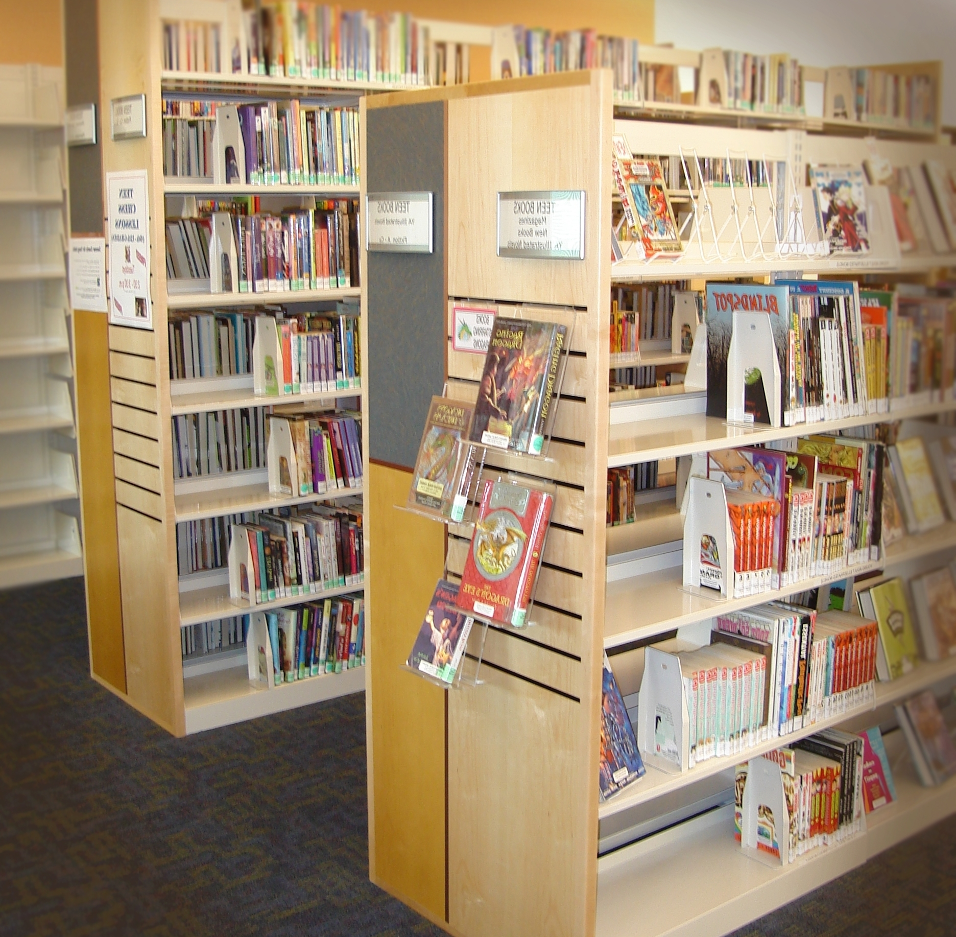Preferred Library Shelfs Within Library Shelving – Embury Ltd (View 5 of 15)