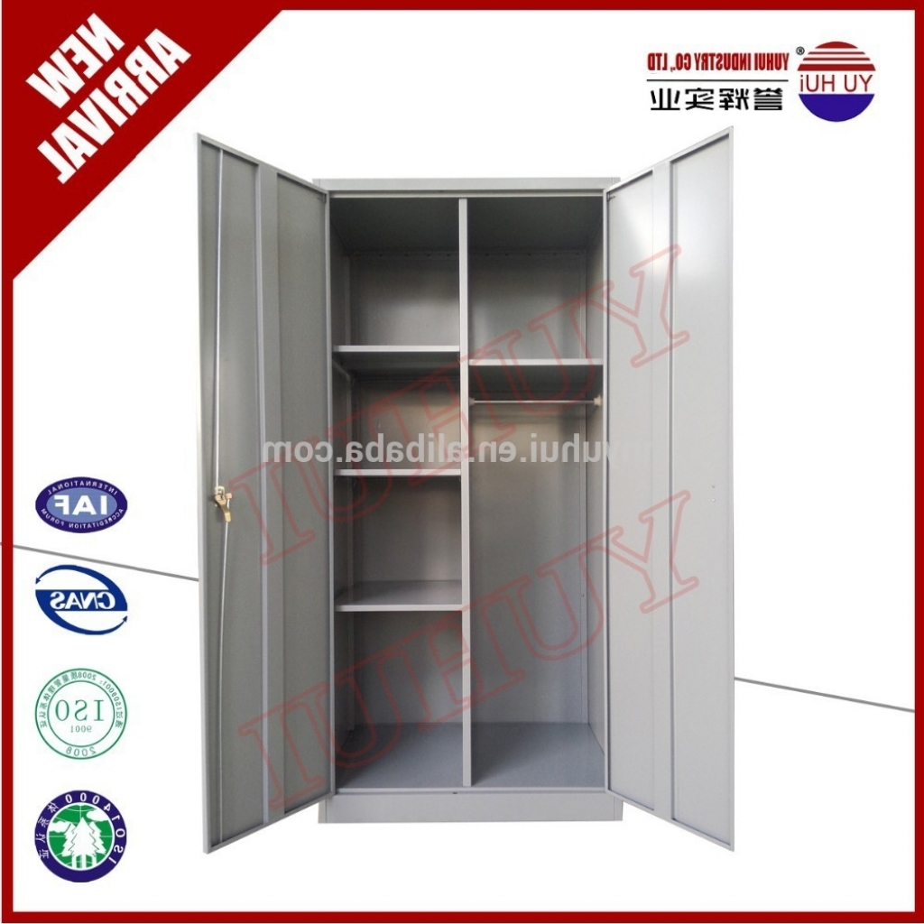 Preferred Metal Wardrobes For Cupboard : Steel Or Iron Wardrobe Design Cupboard Designs Mumbai (View 9 of 15)