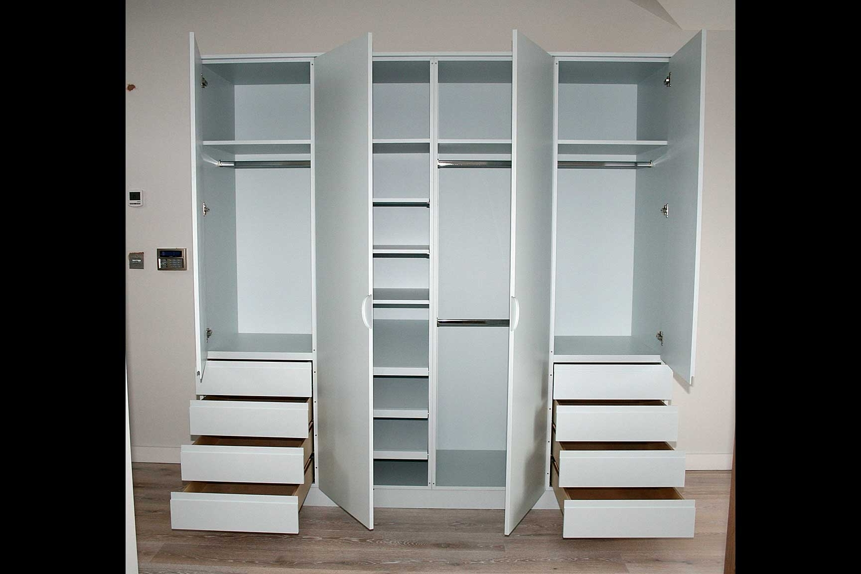 Preferred Sensational Inspiration Ideas Wardrobe With Drawers And Shelves Pertaining To Wardrobes With Drawers And Shelves (View 9 of 15)