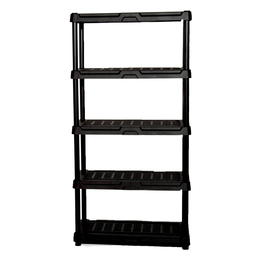 Preferred Shop Freestanding Shelving Units At Lowes For Free Standing White Shelves (View 11 of 15)