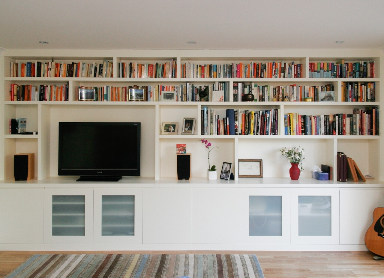Proline Regarding Newest Painted Shelving Units (View 3 of 15)