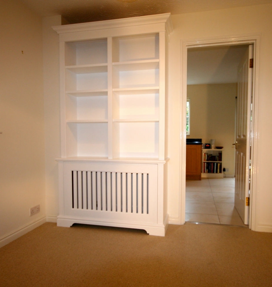 Radiator Bookcases Throughout Widely Used Bookcase Incorporating Radiator Cabinet In Earlsfield – The (View 11 of 15)