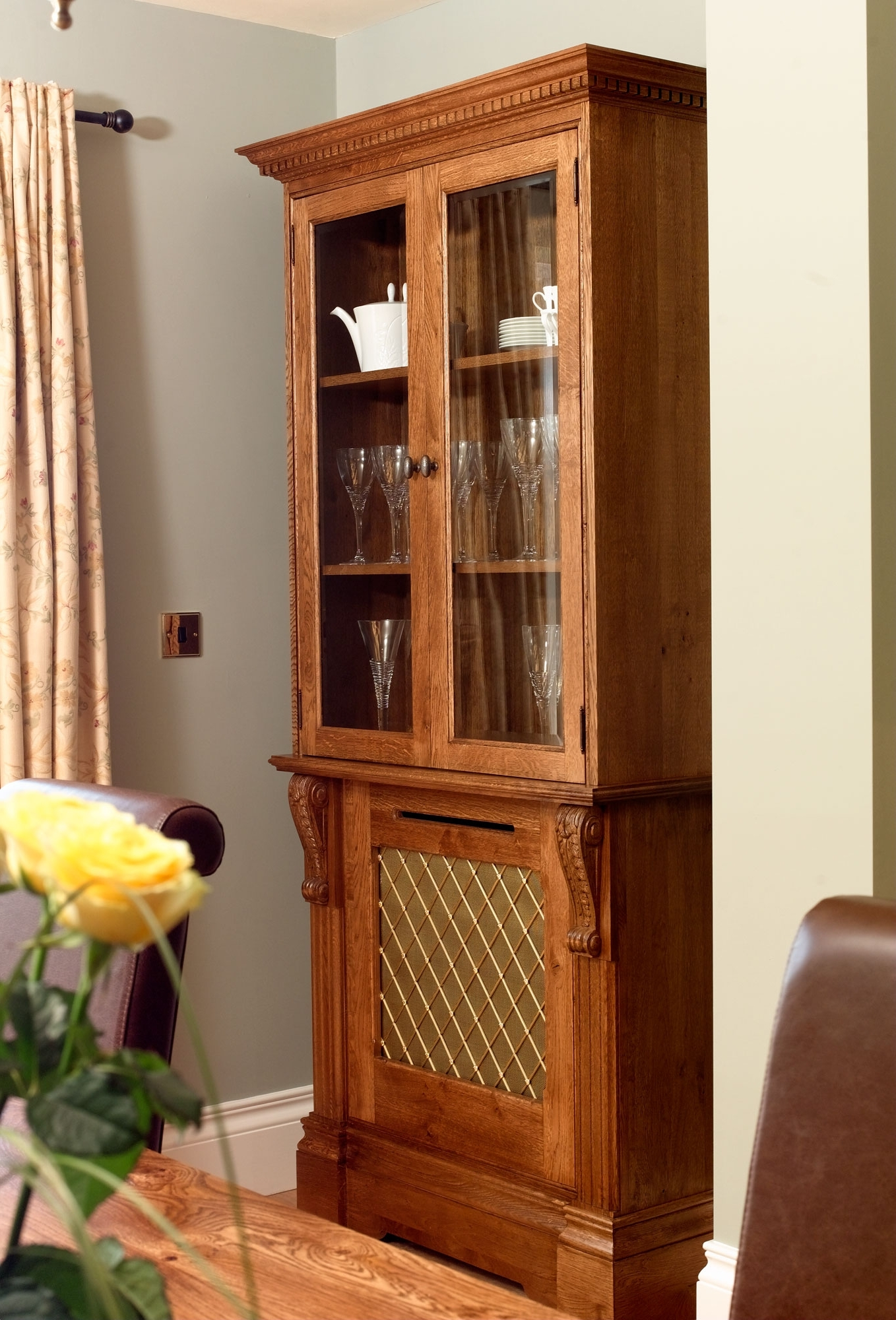 Radiator Cover And Bookcases Regarding Favorite Bookcases – Radiator Cabinets – Radiator Covers With Bookcase (View 9 of 15)