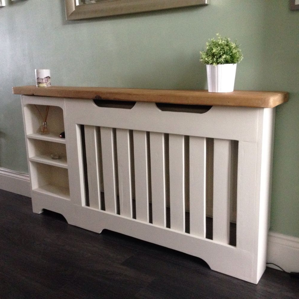 Radiator Cover/display/bookcase Bespoke (View 13 of 15)