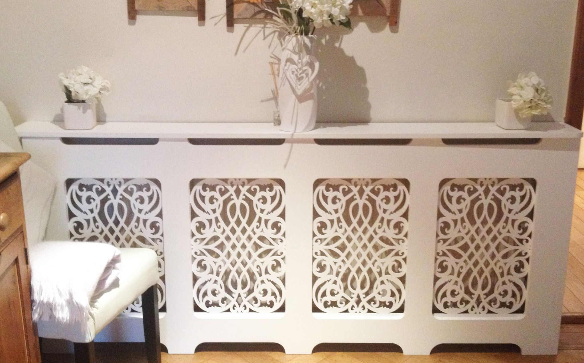 Radiator Cover Shelf Unit In Well Known Classic Style Radiator Cover (View 8 of 15)