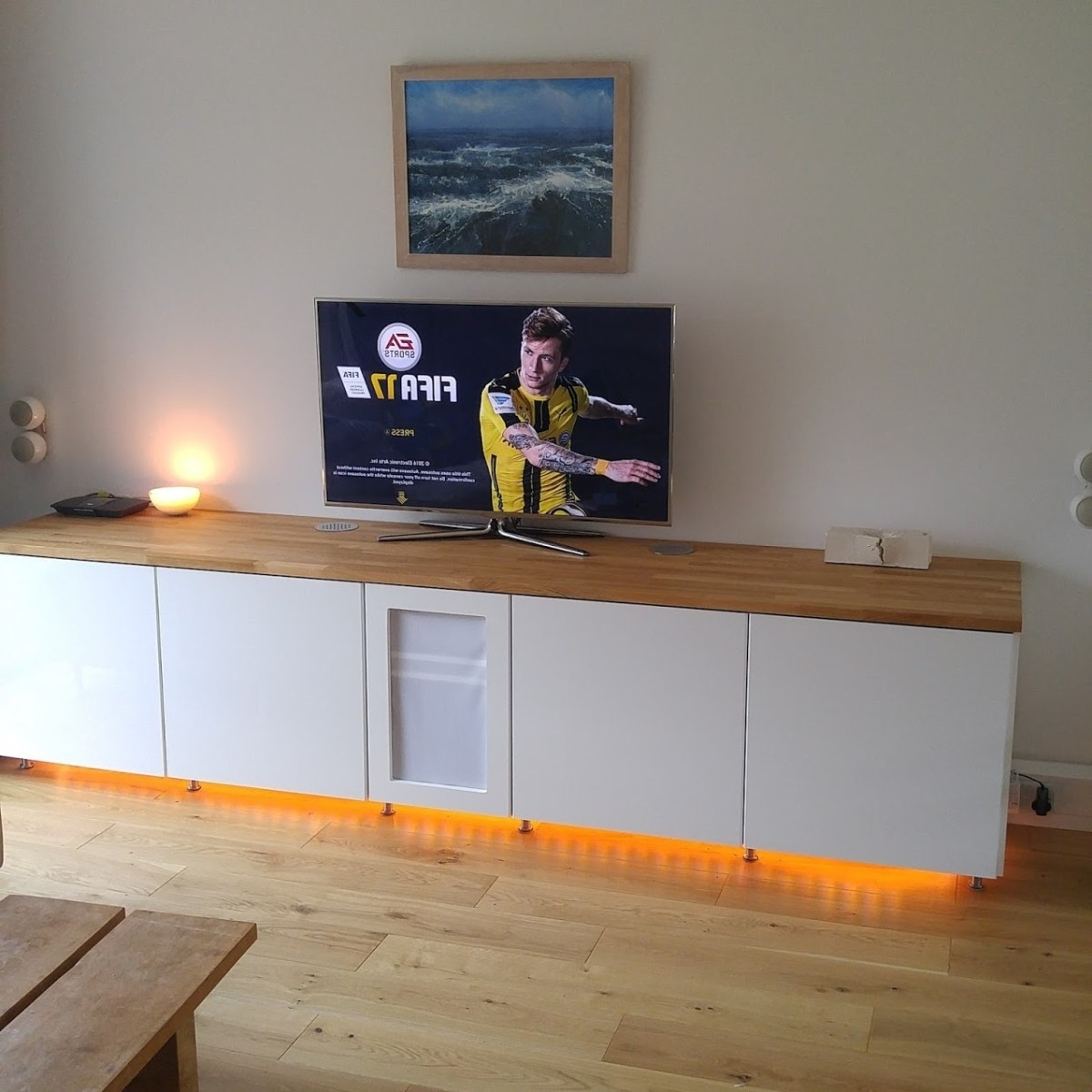 Radiator Cover Tv Stand Regarding Recent Tv & Media Furniture Archives – Ikea Hackers (View 11 of 15)