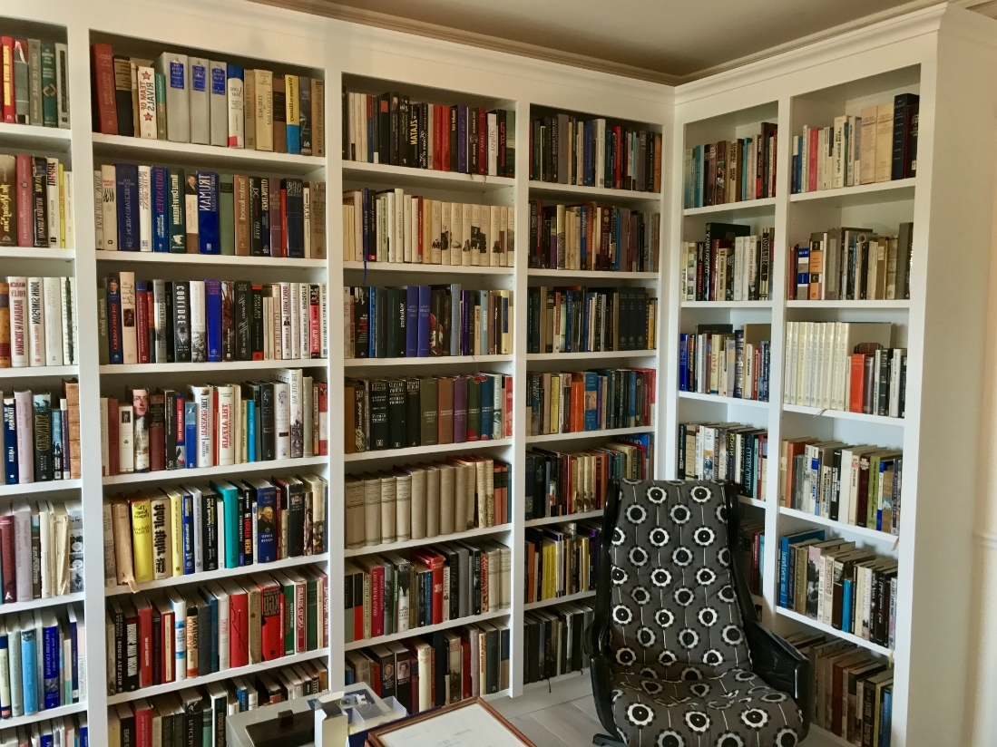 Recent Bespoke Library Shelving In Barnes – The Bookcase Co Throughout Bespoke Library (View 12 of 15)