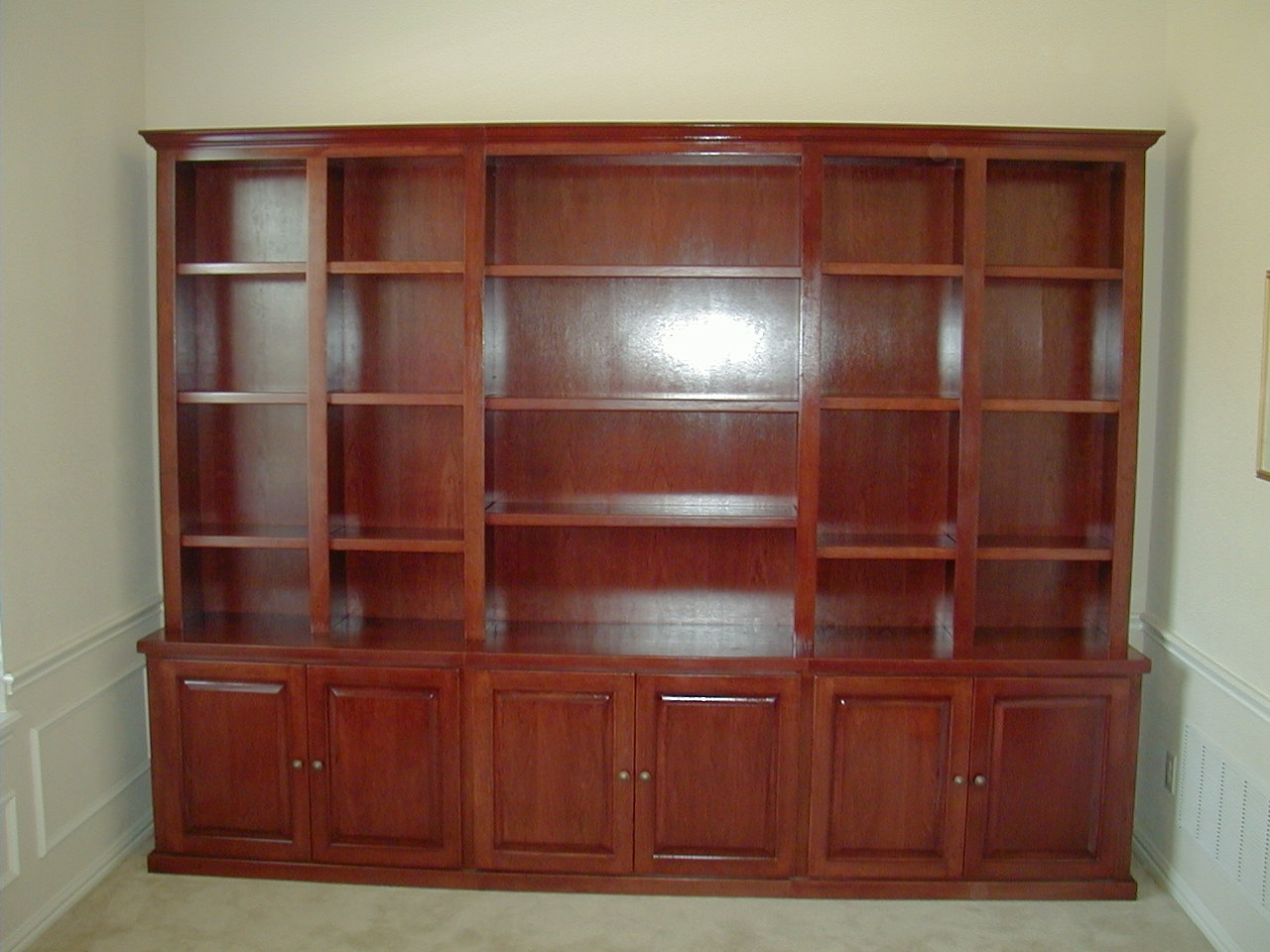 Recent Bookcases – Fiorenza Custom Woodworking With Regard To Cherry Bookcases (View 13 of 15)