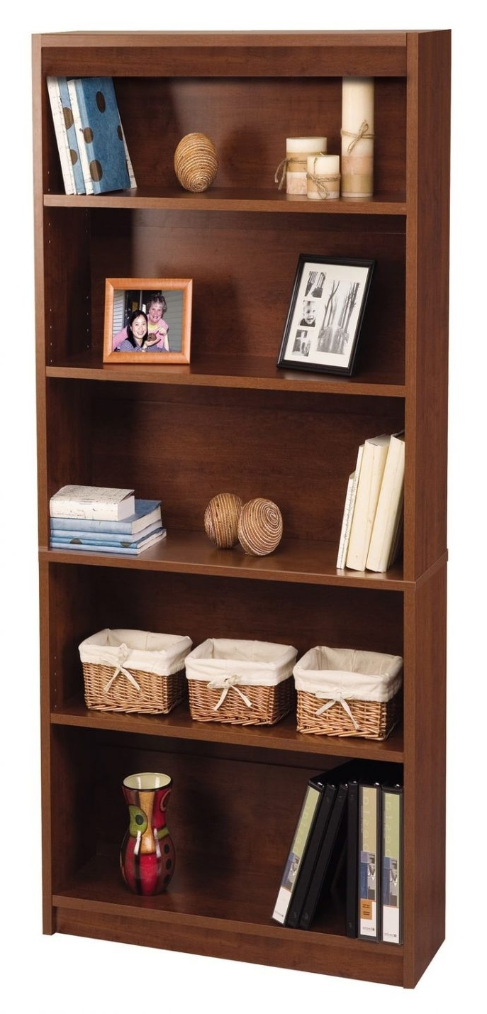 Recent Decoration : Low White Bookshelf Sauder 2 Shelf Bookcase Black Pertaining To Off White Bookcases (View 3 of 15)