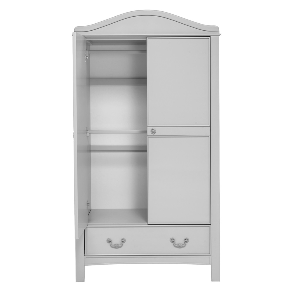 Recent Double Rail Nursery Wardrobes For Toulouse Double Wardrobe – Little Arrivals (View 14 of 15)