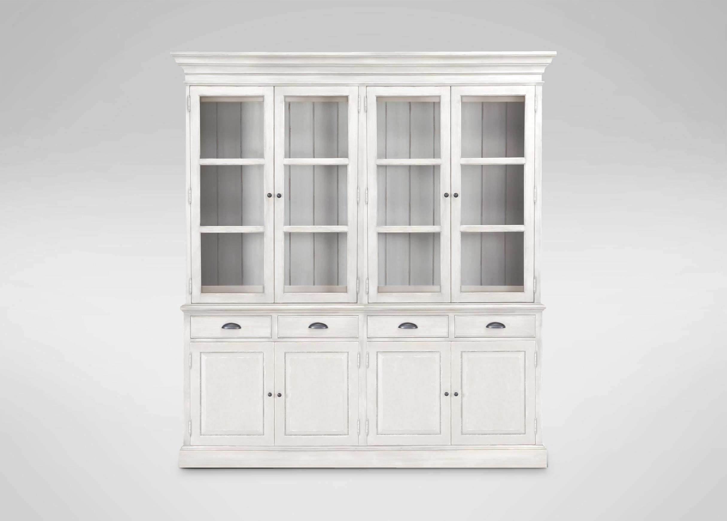Recent Ethan Allen Bookcases Inside Sayville Four Door Cabinet (View 15 of 15)