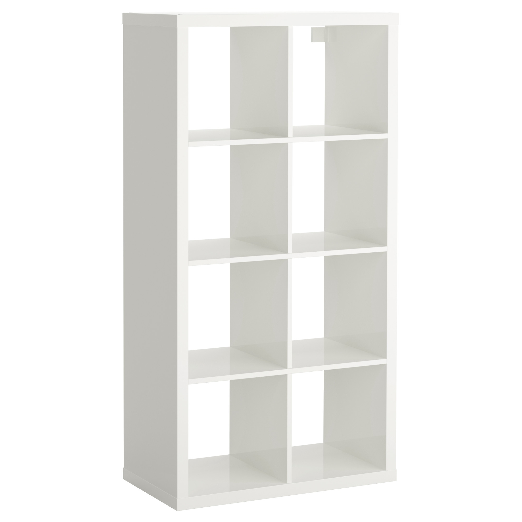 Recent Ikea Cube Bookcases For Kallax Shelf Unit – High Gloss White – Ikea (View 7 of 15)
