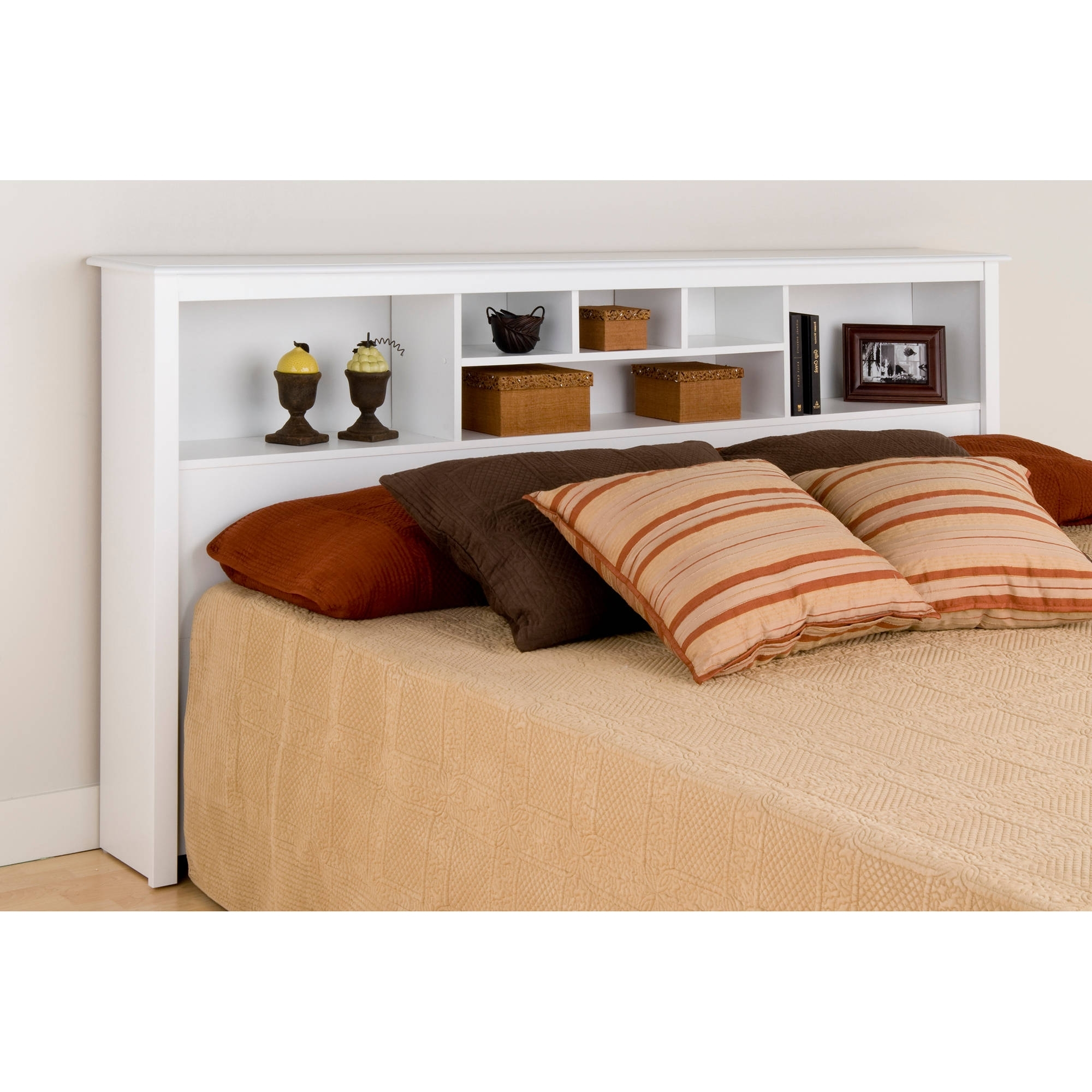 Recent Prepac Manufacturing King Size Bookcase Headboard – Walmart Intended For Bookcases Headboard (View 6 of 15)