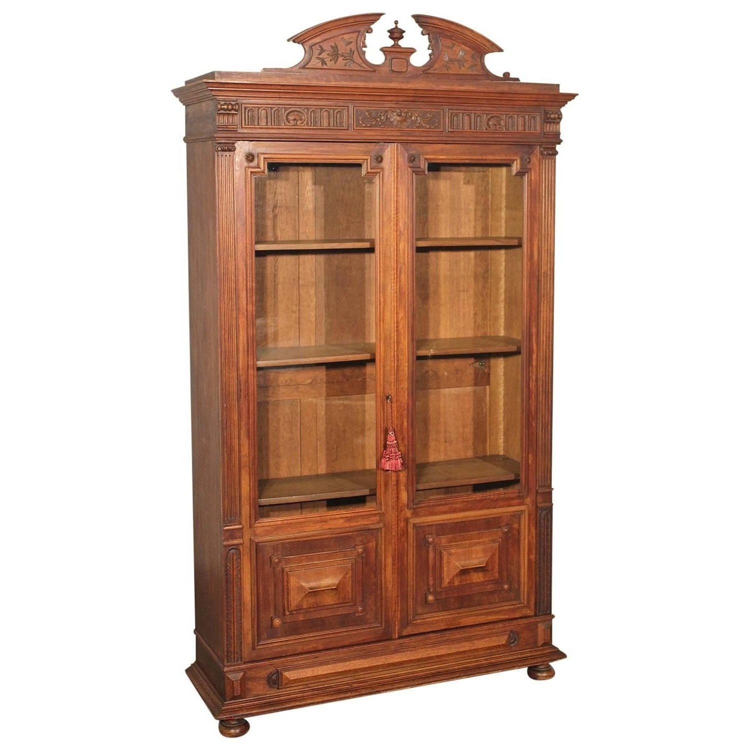 Recent Shallow Bookcases Pertaining To Massive Victorian Bookcase For Sale At 1Stdibs (View 5 of 15)