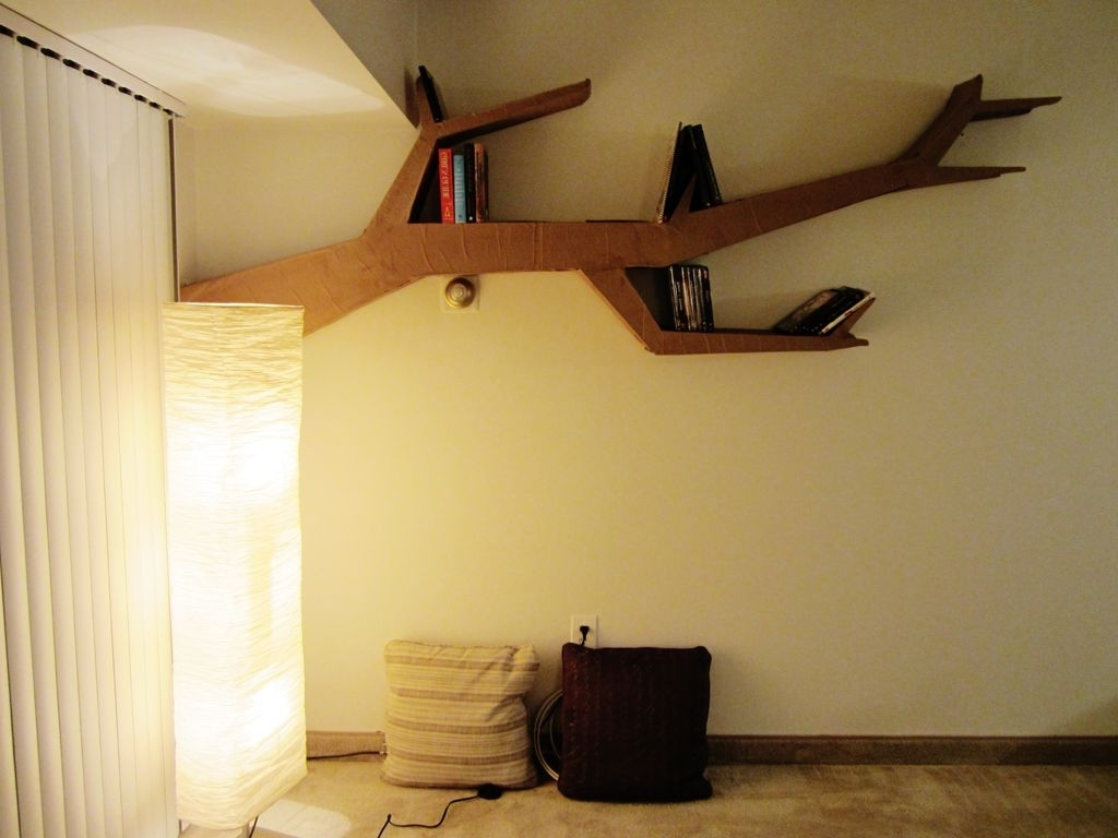 Recent Tree Bookcases Within Furniture : 15 Creative And Clever Tree Branch Bookshelf Ideas (View 14 of 15)