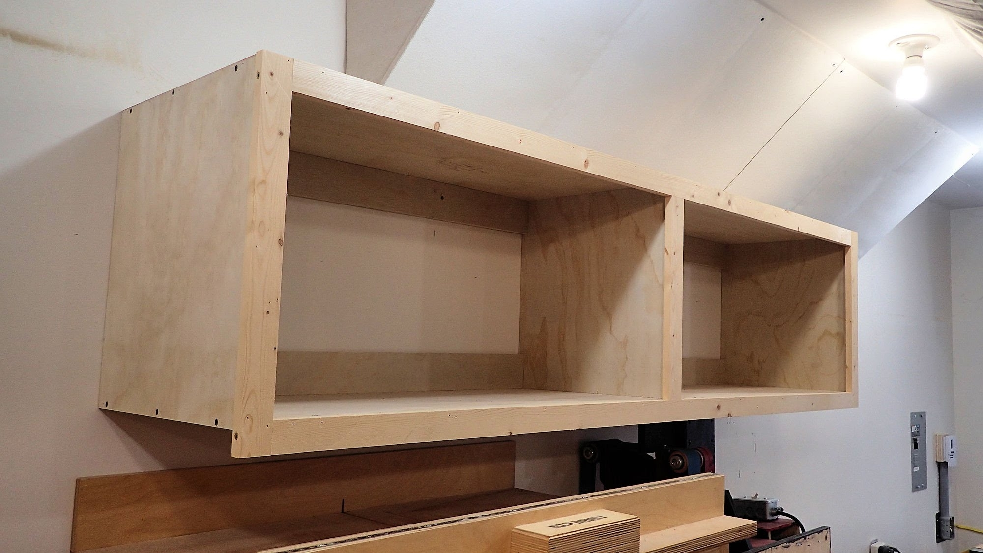 Recent Wall Mounted Storage Cabinet In One Day – Youtube With Regard To Wall Cupboards (View 11 of 15)