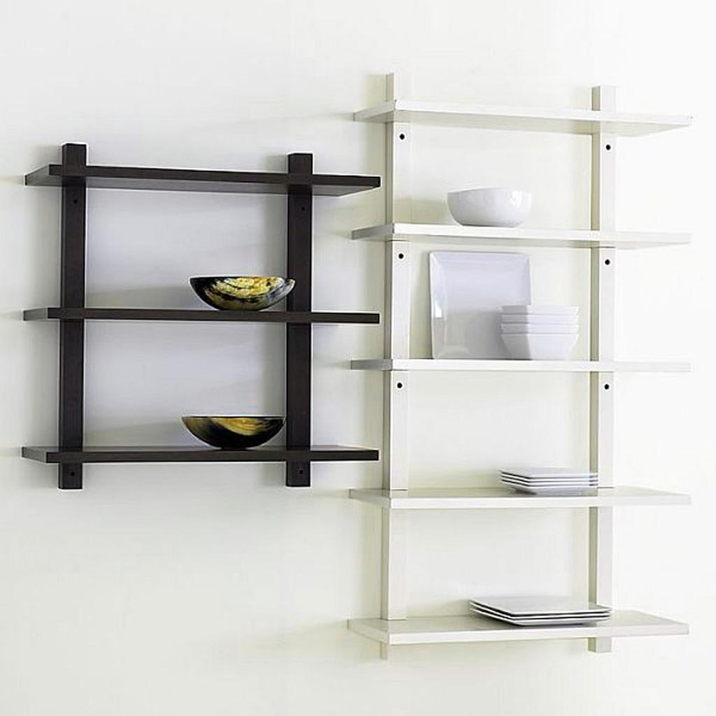 Recent Wall Shelves Design: Modern Sears Wall Shelves Design Best Shelves For Colored Bookcases (View 13 of 15)