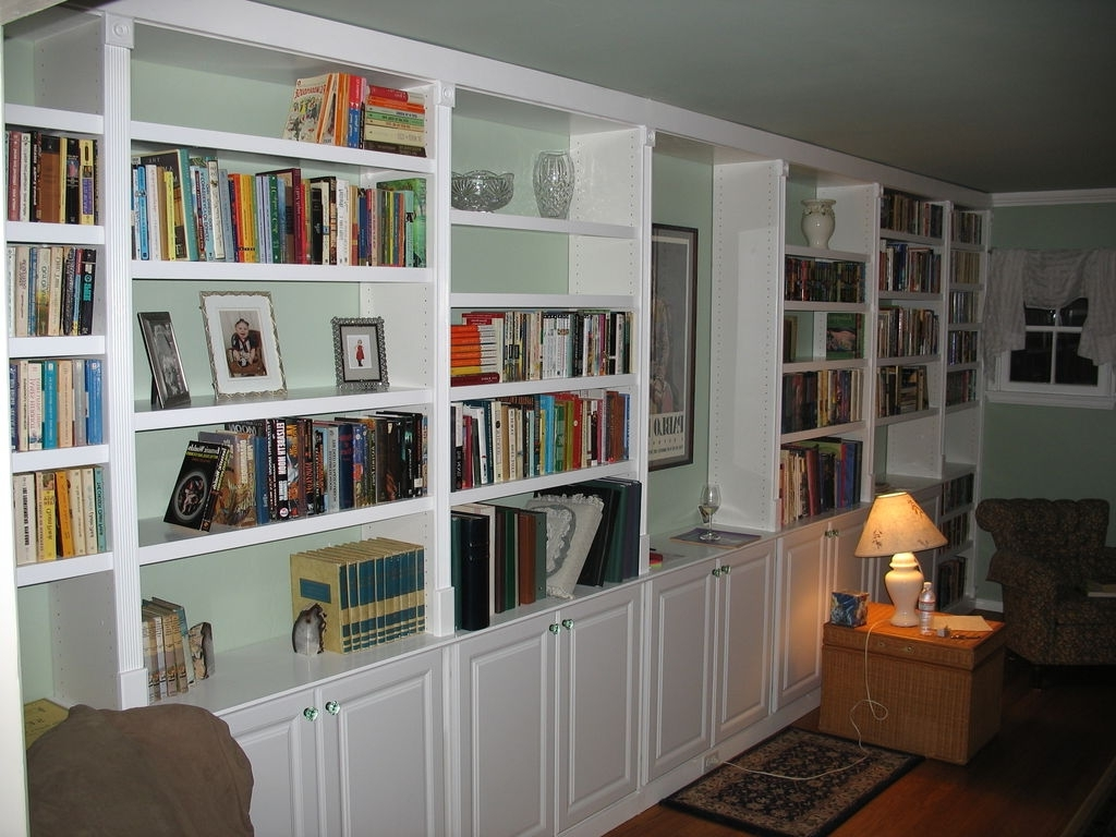 Recent Wall To Wall Bookcases Inside Built In Book Cases: 5 Steps (with Pictures) (View 11 of 15)
