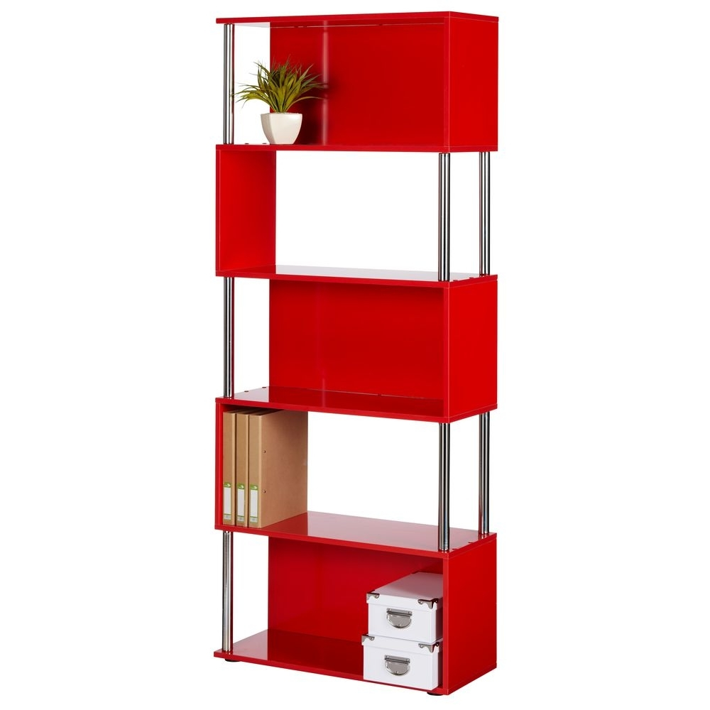 Red Bookcases Pertaining To 2017 Red Bookcase Bookcases Hoctropro Red Bookcase In Bookcase Style (View 13 of 15)