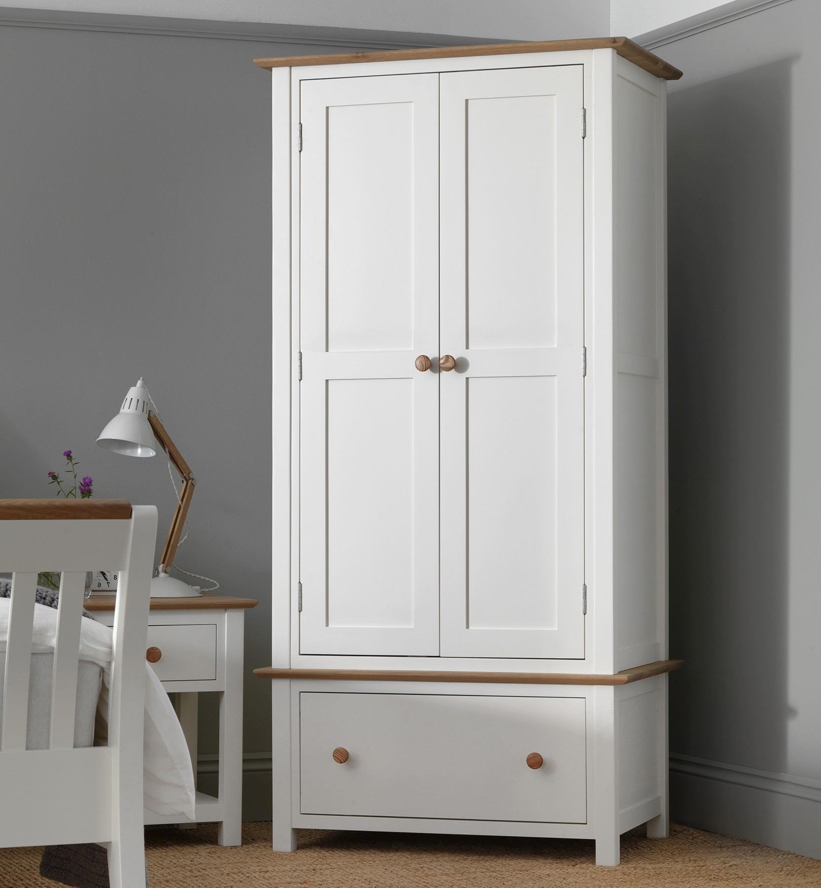 Remarkable Design White Wardrobe With Drawers And Shelves Pertaining To Most Current Wardrobe With Drawers And Shelves (View 10 of 15)