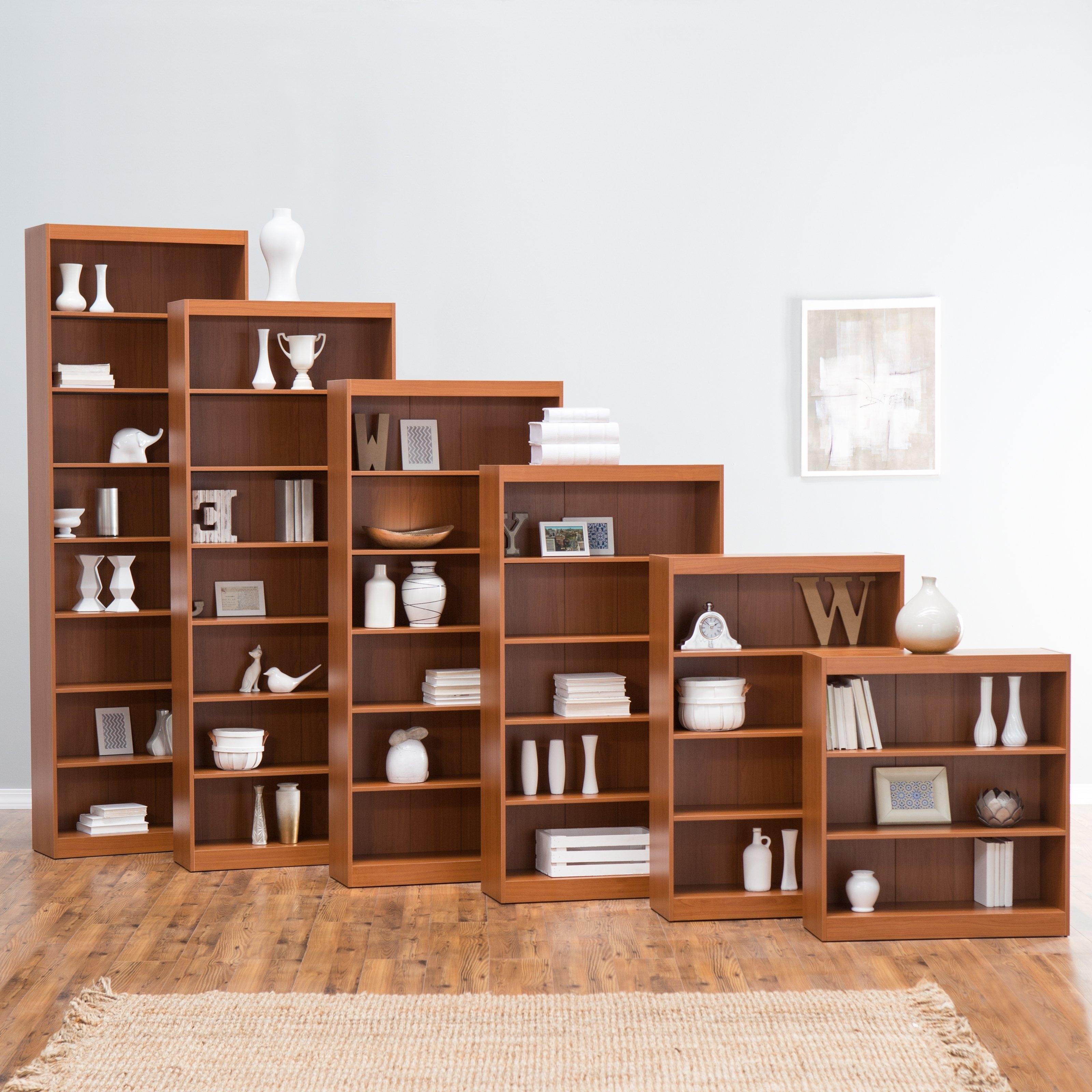 Remmington Heavy Duty Bookcase – Oak (View 2 of 15)