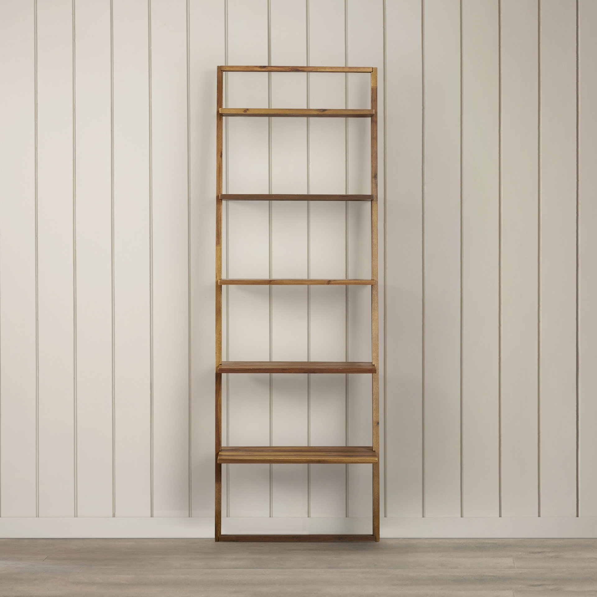 Replacement Shelves For Bookcases In Widely Used Wrought Studio Simonetti Ladder Bookcase & Reviews (View 8 of 15)